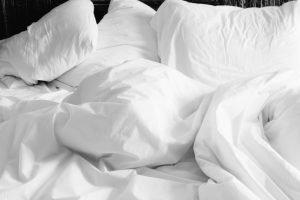 Hotel-Bett Hygiene